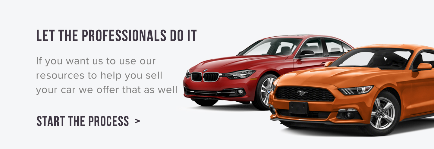 Sell your vehicle today. We\'ll give you a very competitive offer ...